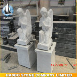 Haobo Stone Direct Sale of White Marble Angel Carving