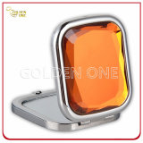 Bling Crystal Decoration Folding Square Make up Mirror