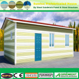 Low Cost Prefab Living House Temporary Prefabricate Assembled Home Office