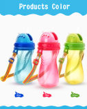 Plastic Sippy Cup Type PP Baby Water Bottle for Wholesale