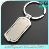 Made in China Cheaper Metal Rectangle Blank Keychain