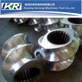 Plastic Twin Screw Extruder Screw and Barrel