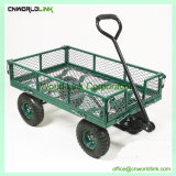 Garden Flower Trees Transporting Vented Fence Iron Vehicle