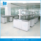 Lab Steel Island Bench with Mobile Cabinet