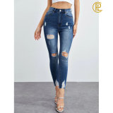 Hot Sales 2020 Summer Hole Skinny Sexy Jeans