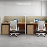 Manufacturer Price 4 Seat Aluminum Frame Partition Modern Office Furniture and Parition