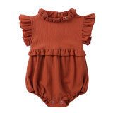 Infants and Girls Dress Lace Collar Sleeveless Jumpsuit Baby Clothes