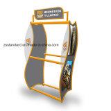 Chain Store Exhibition Stand Metal Floor Standing Wheel Tire Rim Display Rack