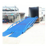 10 Ton Container Yard Truck Hydraulic Car Loading Ramp Lift Unloading Equipment for Forklift Platform