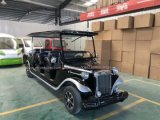 11 Seat 72V Electric Luxury Classic Car for Sales