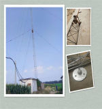 Galvanized Guyed Wire Antenna Telecom Tower