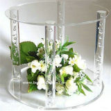 Clear Acrylic Stand for Cake Decoration (BTR-K3023)