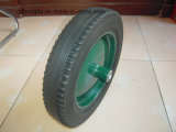 16′′x4′′ Rubber Powder Wheels for Blender, Lawn Mower