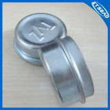 Hub Cap in Steel Covered with Zinc