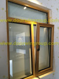 Latest Modern Wood-Alu Window, Inswing Wood-Alu Window, Double/Triple Glazing Glass Window, Standard American Tilt & Turn Window