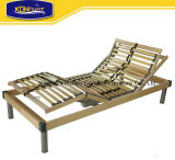 Home Furniture American Bedroom Furniture Popular European Style Birch Wood Slat Adjustable Bed
