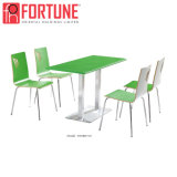 Lower Price Modern Wood Table and Chair for Restaurant/Coffee Shop/Canteen (FOH-BC31B)