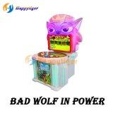 Hitting Bad Wolf Kids Playground Arcade Amusement Slot Game Machine