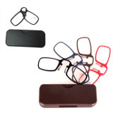 Clip on Nose Reading Glasses Mini Portable Glasses Small-Sized Wallet Presbyopic Glasses Without Arm