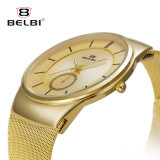 Belbi Men Casual Business Watch Thin Section with Watch
