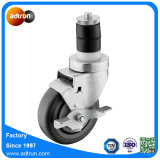 Medium Duty Expanding Caster PU Wheel, Rubber Wheel for Work Tables