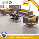 Modern Europe Design Steel Metal Leather Waiting Office Sofa (HX-8NR2233)