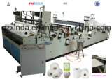 Auto Toilet Tissue Type Slitting and Rewinding Maxi Rolls Machine