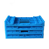 Food and Vegetable PP Plastic Folding Crate/Basket for Warehouse