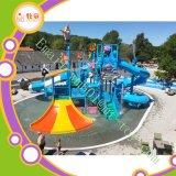 Fiberglass Thrilling Water Park Slide Aqua Water Park Equipment Price