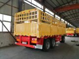 2 Axle Fence Semi Trailer Cargo Fence Full Trailer with Wholesale Semi Truck