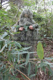 Military Woodland Ghillie Suit for Snipers and Police