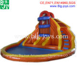 2014 Commercial Inflatable Water Slide Pool for Sale (BJ-AT74)