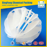 Polypropylene PP PE Polyhedral Hollow Ball Plastic Bio Filter Media