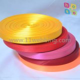 Color Herringbone Polyester Webbing by Stock Low Price Supply