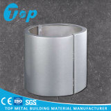 Curved Aluminum Solid Wall Panel for Covering Columns and Corners of Building