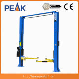 2 Pillars Design Hydraulic Car Lifter with Ce Approval