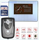 "7"" DVR Color Touch Screen Video Doorbell with PIR Record"