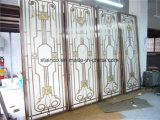 Construction Building Aluminum Dubai Room Divider Screen Metal Work Project