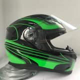 New Design Customize Logo Graphic Full Face Motorcycle Helmet with Factory Price