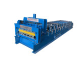Most Popular Automatic Control Cutting Double Layer Colored Roofing Plate Tile Sheet Roll Forming Making Machine