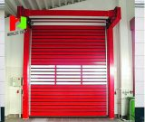 Stainless Spiral High Speed Rolling up Shutter Door