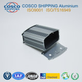 Aluminum/Aluminium Extrusion for Car Amplifier Enclosure with Sand Blasting Anodziing