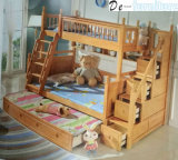 Children Solid Wooden Bed, Bunk Bed Frame for Bedroom Furniture (HA-02)