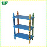 Wholesale Top Quality Wooden Corner Shelf, High Quality Colorful Wooden Shelf