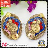 Custom 3D Firemen Metal Enamel Souvenir Badge