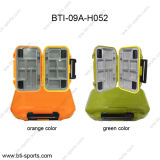 Wholesale Mini Size 12 Compartments 100% Waterproof Fly Fishing Terminal Tackle Box 09A-H052