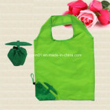 Custom Polyester Folding Shopping Bag with Logo Printing for Promotion Gift
