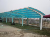 Polycarbonate Hollow Sheet Roof Price for Car Garage Tents