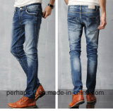 Wholesale Pants Fashion Mens Leisure Jeans with Fine Fabric