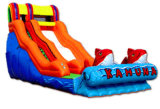 Commercial Fish Jumping Castles Inflatable Slide for Kids